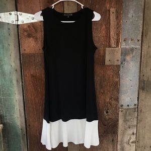 Covington Black and White Dress